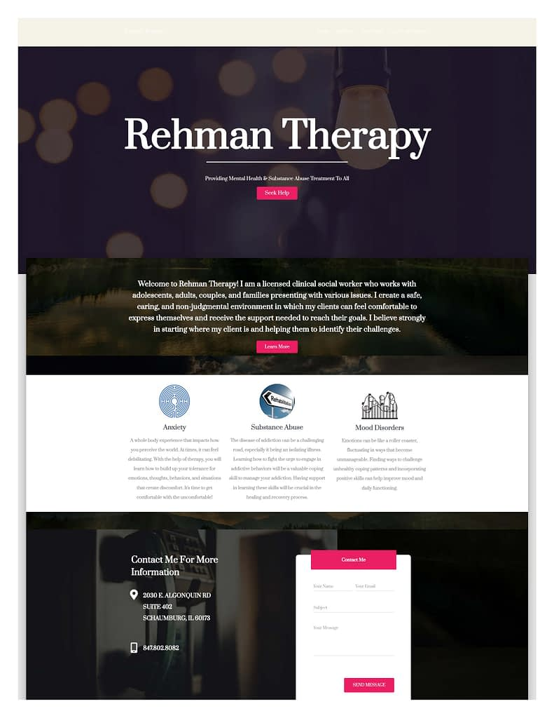 Rehman Therapy